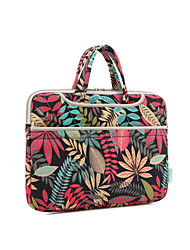 "Handbag for Macbook Pro 15.4"" Flower Textile Material Forest Series Waterproof Shockproof Notebook Bag Hand Bag"