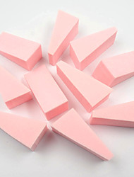 15PCS Nail Sponges Nail Art Stamping Stamper Scrape Woman Nail Files for Acrylic Manicure Accessory(Assorted Color)