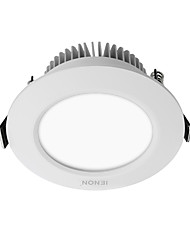 IENON® 1 pcs  6W  SMD 360-400/380-420 LM  Recessed Retrofit  LED Ceiling Lights Warm White / Cool White   AC 100-240 V