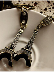 Retro Paris Eiffel Tower Keychain Car Key Ring Gift