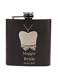 Bride / Bridesmaid / Couple / Parents Gifts Piece/Set Hip Flasks Classic / Modern / Lovers Wedding / Birthday / Valentine Stainless Steel