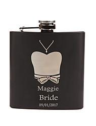 Bride / Bridesmaid / Couple / Parents Gifts Piece/Set Hip Flasks Classic / Modern / Lovers Wedding / Birthday / Valentine Stainless Steel
