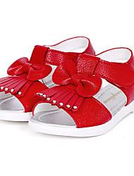ДЕВУШКА-Сандалии(Розовый / Красный / Белый) -Удобная обувь / С открытым носком / Сандалии