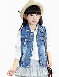 Girl's Blue Jeans,Cartoon Cotton Spring / Fall