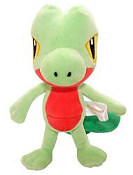 Pocket Little Monster Model Treecko Soft Plush Stuffed Doll Toy