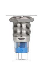 промышленные принадлежности 19мм светодиодные фонари с самоблокирующимся питания старт знак СТОП переключатель водонепроницаемый
