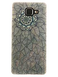 For Samsung Galaxy Case IMD / Pattern Case Back Cover Case Mandala Soft TPU Samsung A7(2016) / A5(2016) / A3(2016) / A5 / A3