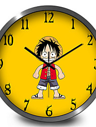 Lovely Cartoon Home Decorative Children'S Room Silent Wall Clock