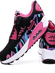 运动鞋 Running Shoes Women's Anti-Slip / Wearproof / Breathable / Height Increasing / Air Mattresses/Air Shoes Leatherette / Breathable Mesh