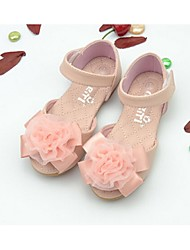 Girl's Sandals Summer Comfort PU Casual Pink White