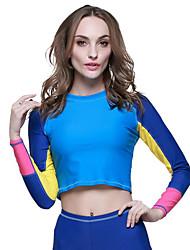SBART Homme Combinaisons Tenue de plongée Compression Costumes humides 1.5 à 1.9 mm Bleu S / M / L / XL Plongée