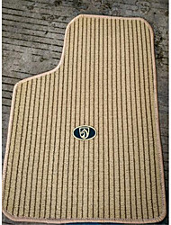 Flax Car Mats Carpet PVC Green Rubber Bottom Four Seasons General