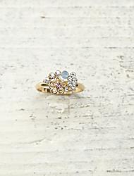 Ringe Modisch Normal Schmuck Damen Mittelfingerring 1 Stück,Verstellbar Goldfarben