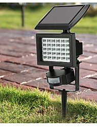 Ultra Bright 30LEDs PIR Motion Sensor Light LED Solar Powered Light 200LM Security Wall Lamp for Outdoor Garden Balcony