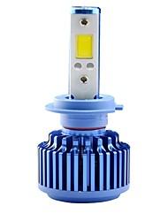 2 pcs vente chaude LED voiture phare 3000lm lumière brouillard blanc 30w h4 h13 9004 9007 kit