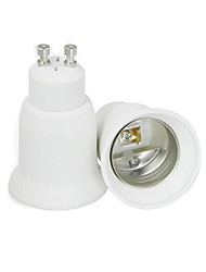 Scalable GU10 to E27 LED Bulbs Socket Adapter