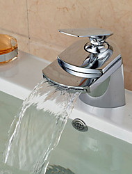 Bathroom Sink Faucet Contemporary design Waterfall Spout