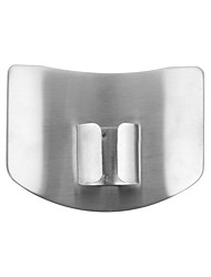 1pc High Quality Stainless Steel Finger Hand Protector Guard Chop Safe Slice Knife Kitchen Tool