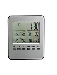 Ndoor And Outdoor Temperature And Humidity Meter Meteorological Station Electronic Wireless Thermometer