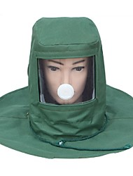 Dustproof hood protective mask sand blasting cap special paint paint cap industrial grinding special labor protection