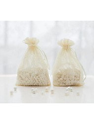 10Pcs/Set HIGH QUALITY White/Ivory/Pink Lace Favor Gift Bags Wedding Candy Favour Pouch Party Supplies