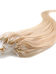 8A Grade Micro Ring Hair Extension 100S 100g/lot Micro Loop Hair Multiple Color Indian Hair 100% Unprocessed Virign Hair