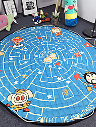 "Hot Sale Toys Storage Bag Carpet Kids Game Mats diameter 59"" baby Crawling multifunctional round blanket Play Rug"