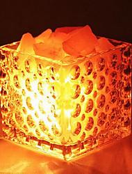 Creative Himalayan Salt Crystal European Decorative Small Lamp Bedroom Warm Nightlights
