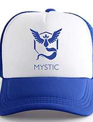 Hat/Cap Inspired by Pocket Monster Ash Ketchum Anime Cosplay Accessories Cap / Figure White / Blue Charmeuse Male / Female