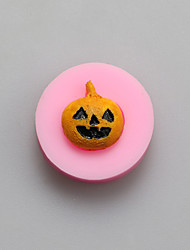 A Pumpkin Head Chocolate Silicone Molds,Cake Molds,Soap Molds,Decoration Tools Bakeware