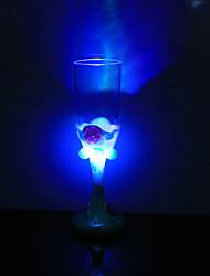 1pc bunte Farbe kreative zufällige Valentinstag LED-Lampe LED-Nachtlicht Trinkbehälter