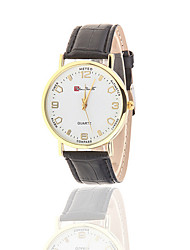 The New Ultra-Thin Light Gold Shell Strap Watch Contracted Leisure Men And Women Lovers Life Waterproof Watch