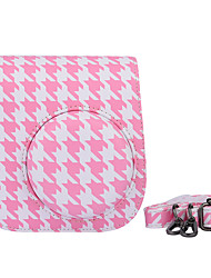 Instax Case Bag Case with Shoulder Strap and Pocket (Deer) for Fujifilm Mini8 Mini8s Mini8+ Birds