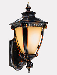 E26/E27 Traditionnel/Classique, Vers le Bas Chandeliers muraux Outdoor Lights