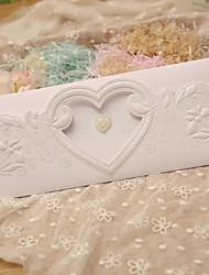 Personnalisé Pli Parallèle Vertical Invitations de mariage Cartes d'invitation-50 Pièce/SetStyle classique / Style papillons / Thème