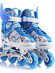 Unisex Sneakers Spring Summer Fall Winter Roller Skate Shoes Customized Materials Gore Hook & Loop Blue Pink Skate Shoes
