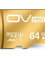 ov 64 g carte mémoire microsd u3 tf portable carte mémoire haute vitesse tablette téléphone carte mémoire générale