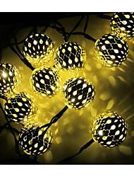 None 3 M 10 LED Diode Warmweiß / Weiß / RGB Wiederaufladbar 2.5 W Lichtsets <5V V