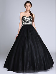 TS Couture®Formal Evening Dress Ball Gown Sweetheart Floor-length Tulle with Beading / Lace