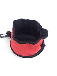 Cat / Dog Bowls & Water Bottles Pet Bowls & Feeding Waterproof / Portable Red / Blue Terylene