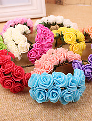 Wedding Flowers Free-form Roses / Peonies Decorations(144pieces flowers)
