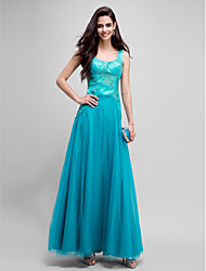 TS Couture® Formal Evening Dress A-line Square Floor-length Organza / Satin with