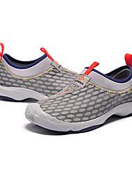 Zapatos Interior Tejido Gris Hombre