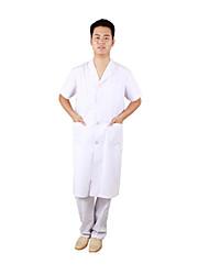 chanson xin longueur jiu jiu blanc laboratoire manteau vêtements manteau médecins de sexe masculin d'été