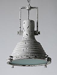 40W Lampe suspendue ,  Traditionnel/Classique / Rétro Peintures Fonctionnalité for Style mini MétalSalle de séjour / Chambre à coucher /