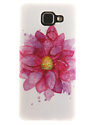 For Samsung Galaxy Case IMD / Pattern Case Back Cover Case Flower Soft TPU Samsung A7(2016) / A5(2016) / A3(2016) / A5 / A3