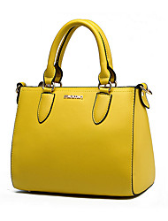 Women Cowhide Event/Party / Wedding / Office & Career Tote Multi-color