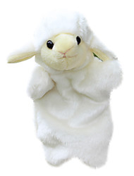 Small Toy Sheep Hand Even Large Small Animal Finger Doll White