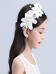 Girls Hair Accessories,Summer / Winter / All Seasons Cotton White