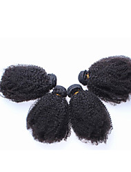 3Pcs/Lot 10''-26'' Brazilian Virgin Hair Afro Kinky Curly Human Hair Weave Extensions